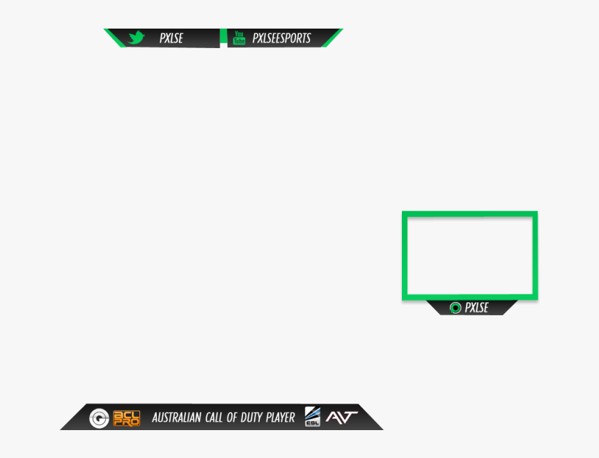 Twitch Stream Overlay - Nice Twitch Overlays Png, Transparent Png, Free Download