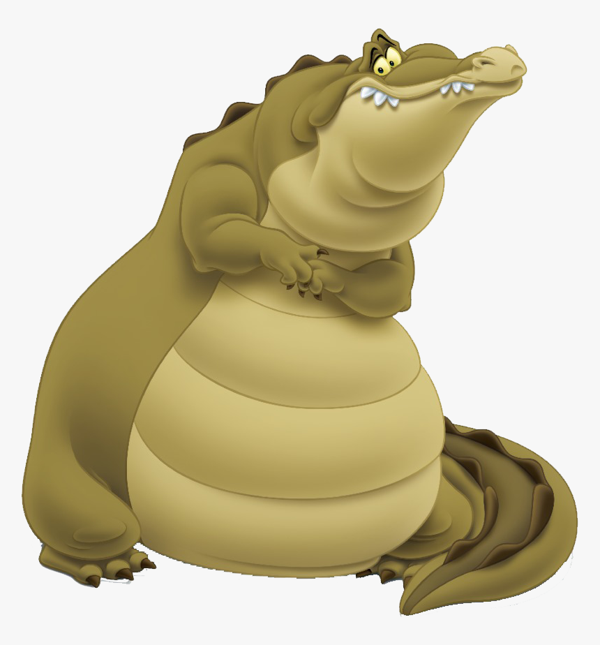 Louis Alligator Princess And The Frog Characters Png