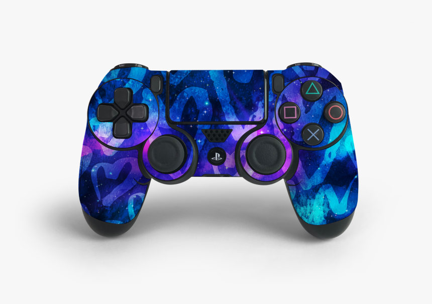 Ps4 Controller Space Love Decal Kit - Game Controller, HD Png Download, Free Download