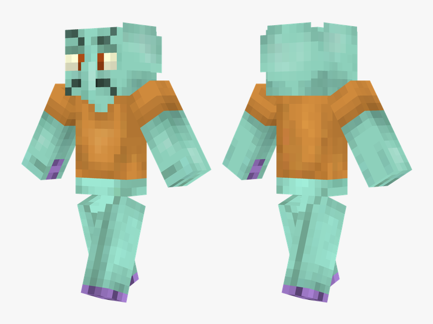 Minecraft Green Steve Skin, HD Png Download, Free Download