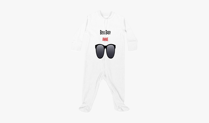 Boss Baby Customised Baby Jumpsuit Sleep Mask Hd Png