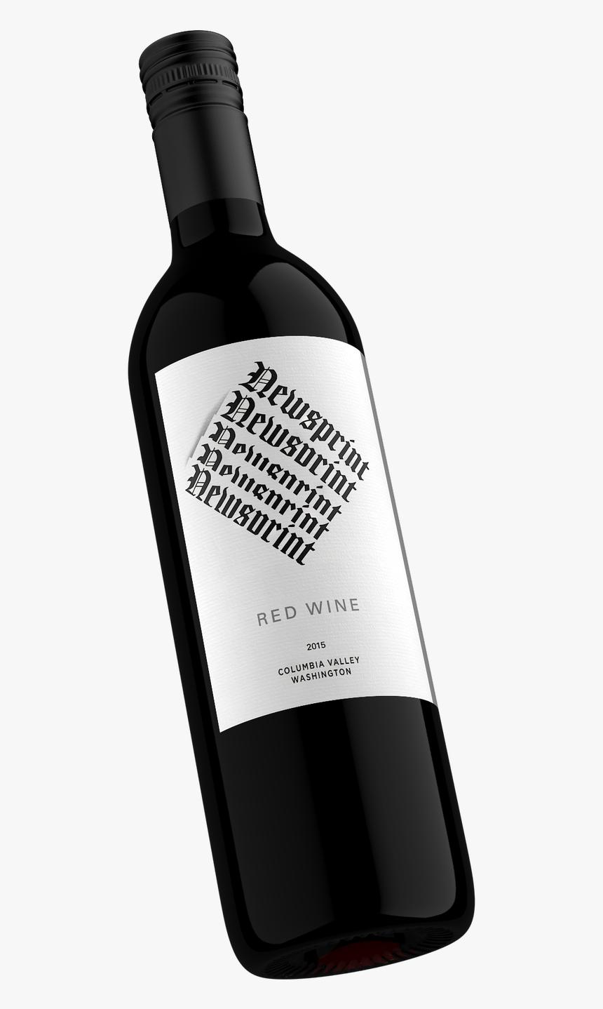 Wine - Singleimage - Wine Bottle, HD Png Download, Free Download