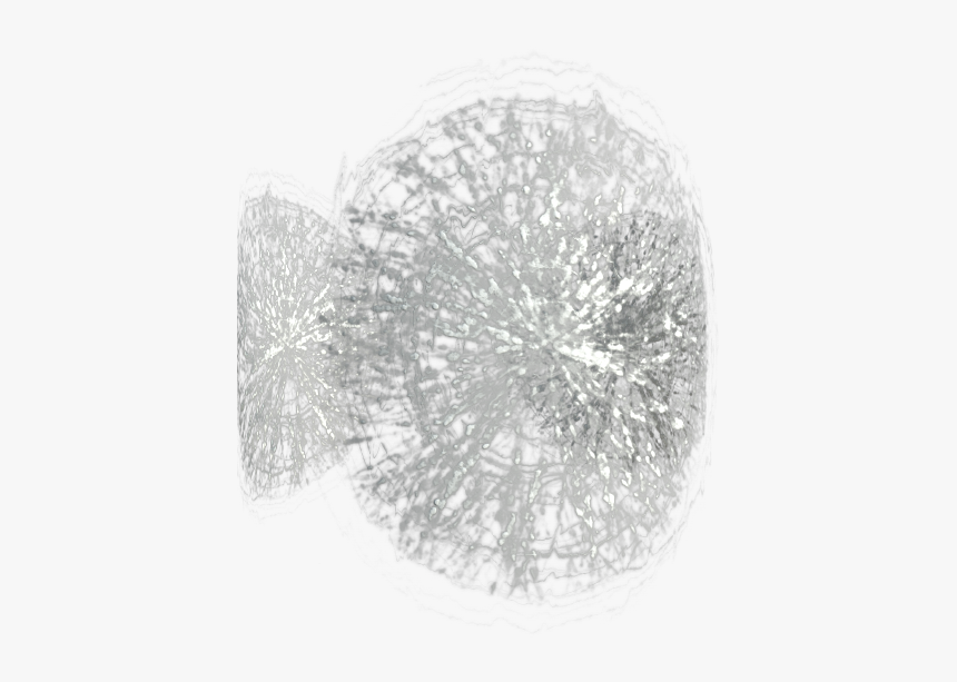 Broken Glass Texture With Cracks, Seamless And Tileable - Ring, HD Png Download, Free Download