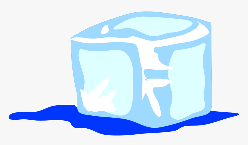 Ice Cube, Frozen, Water, Ice, Drink, Cold, Cool - Clipart Ghiaccio, HD Png Download, Free Download