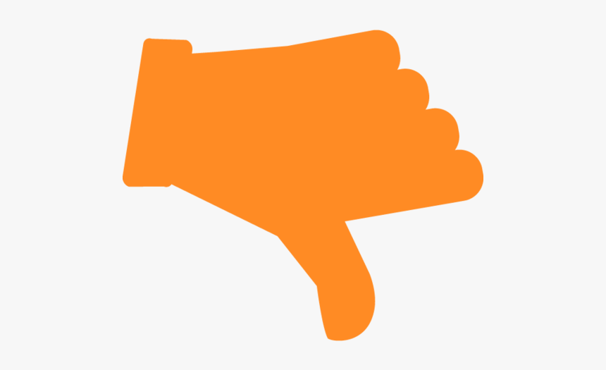 Thumbs Down Icon Png, Transparent Png, Free Download