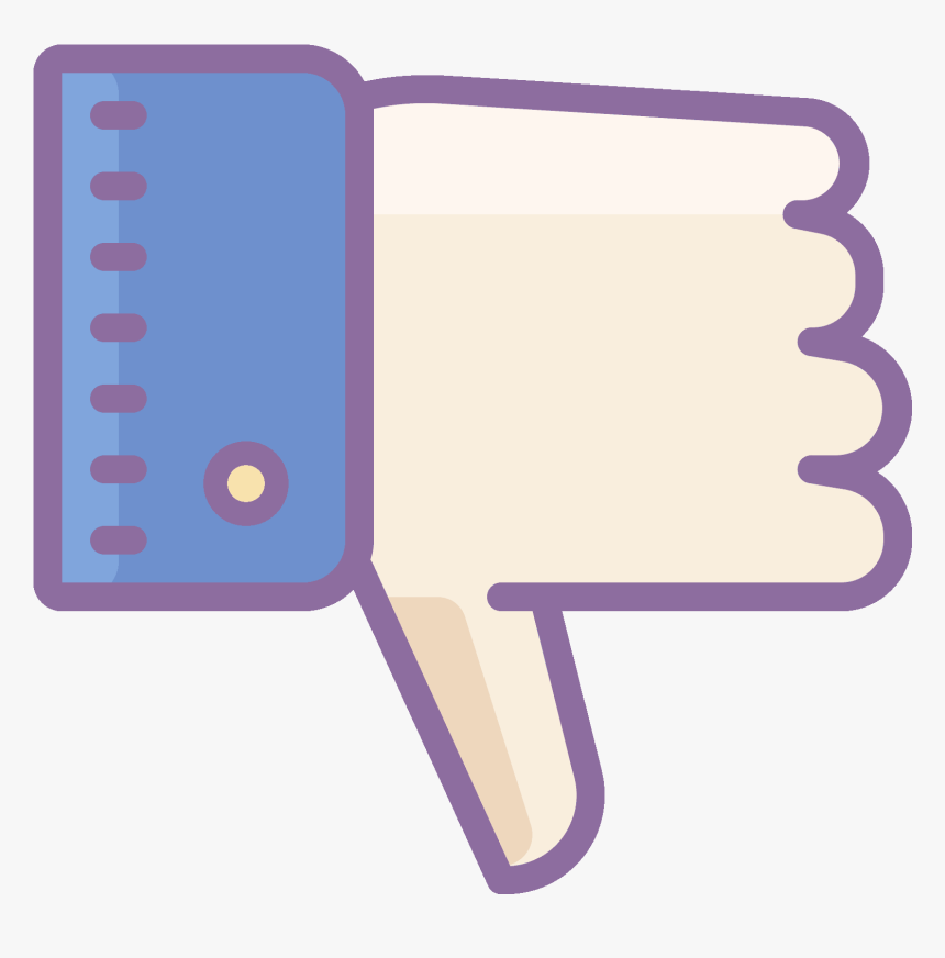 Its A Hand Making A Thumbs Down Sign - Thumb Signal, HD Png Download, Free Download