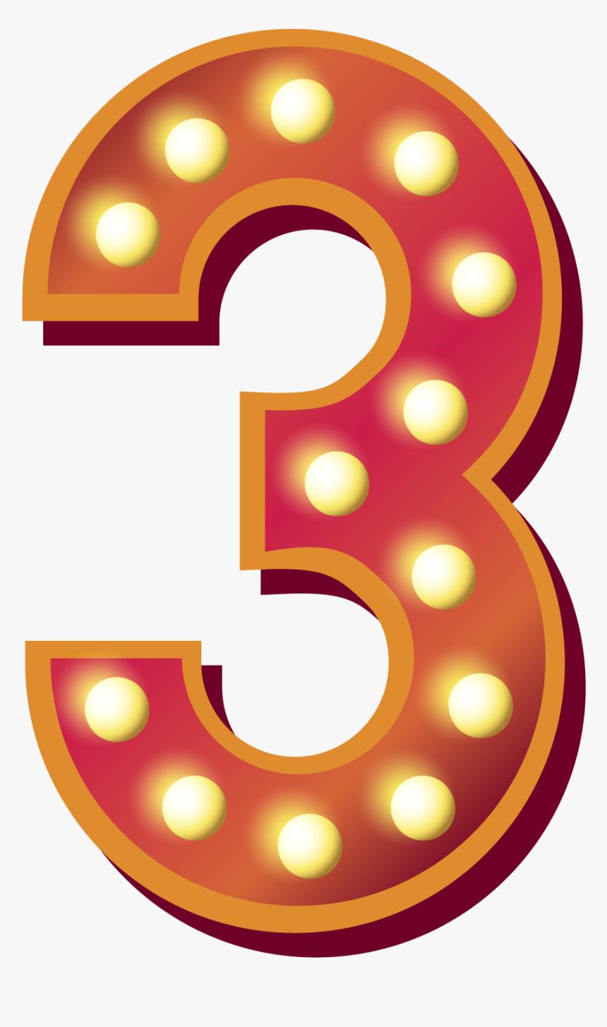 3 Number Png Download Free Image - Transparent Background 3 Png, Png Download, Free Download