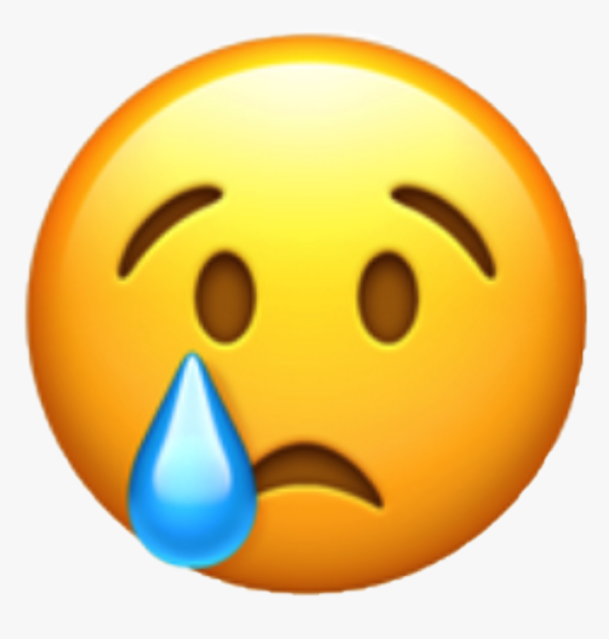 World Emoji Day Whatsapp Emoticon Crying - Sad Emoji Png, Transparent Png, Free Download
