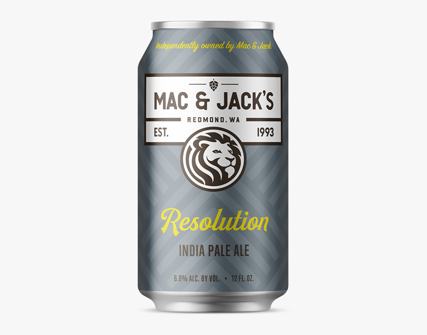 Resolution Can Homepage - Mac And Jacks Ipa, HD Png Download, Free Download