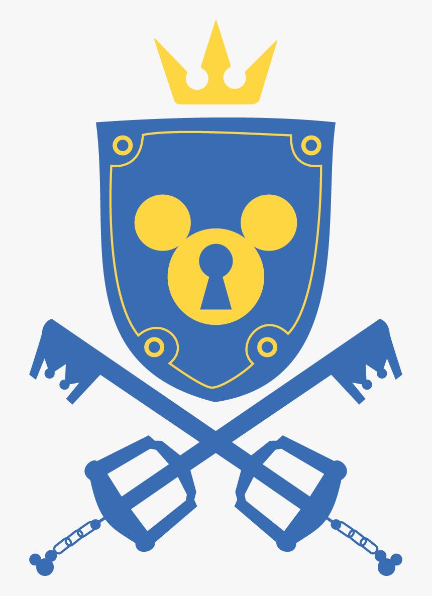 Kingdom Hearts Symbols Icon , Png Download - Transparent Symbol Kingdom Hearts Logo, Png Download, Free Download
