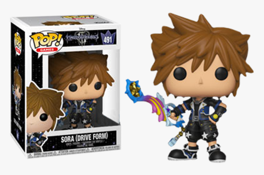 Kingdom Hearts - Kingdom Hearts 3 Sora Funko Pop, HD Png Download, Free Download