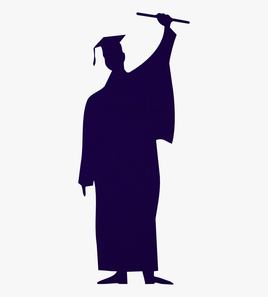 Student Graduation Clipart - Graduate With Transparent Background, HD Png Download, Free Download