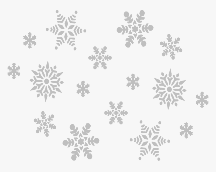 Christmas Snowflakes Png - Falling Snow Clip Art, Transparent Png, Free Download