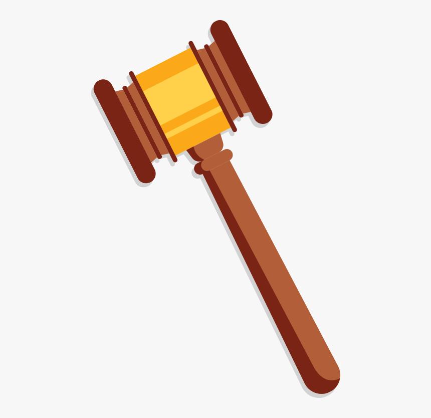 Justice Clipart Gavel - Supreme Court Hammer Png, Transparent Png, Free Download