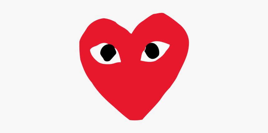 Comme Des Garcons Play Logo Png 1 » Png Image - Comme Des Garçons, Transparent Png, Free Download