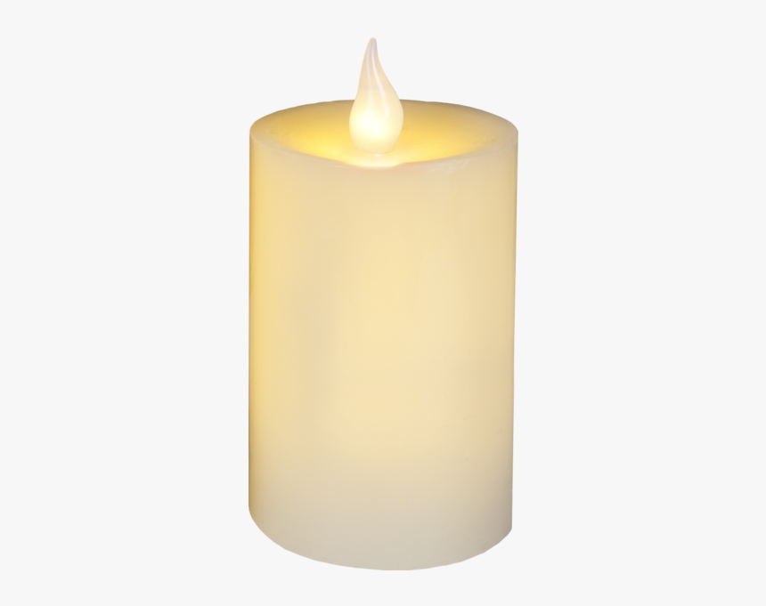 Led Pillar Candle Flame - Advent Candle, HD Png Download, Free Download