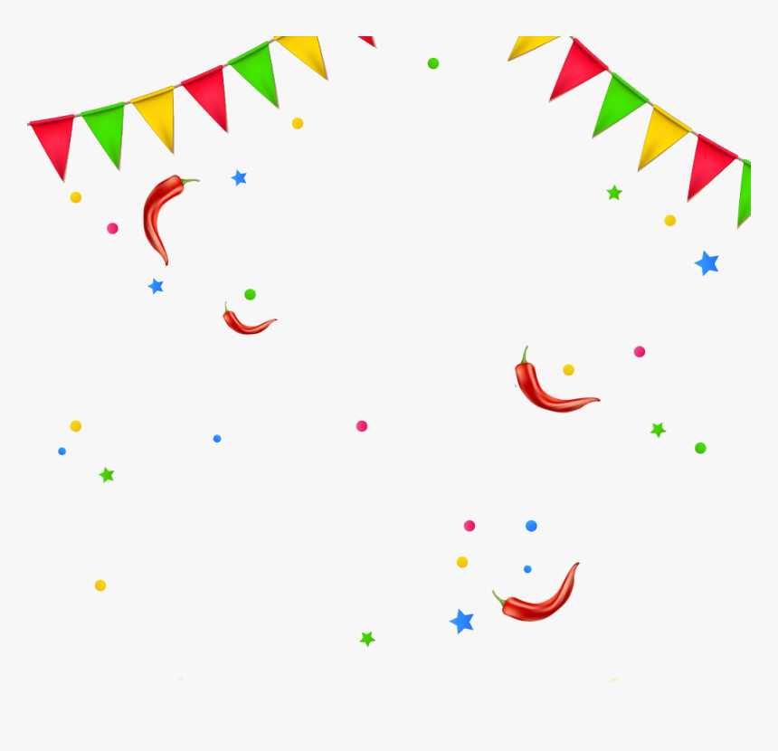 Transparent Cinco De Mayo Banner Clipart - Cinco De Mayo Confetti, HD Png Download, Free Download