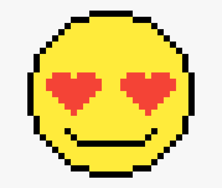 Heart Eyes Emoji Pixel Coin Gif Hd Png Download Kindpng