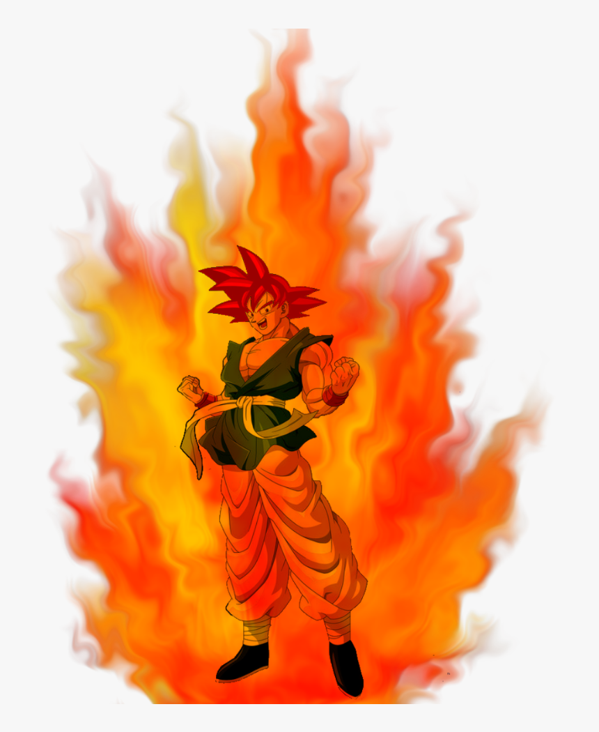 Goku God Aura Pinterest Png Dbz God Aura - Goku Ssj God Aura, Transparent Png, Free Download