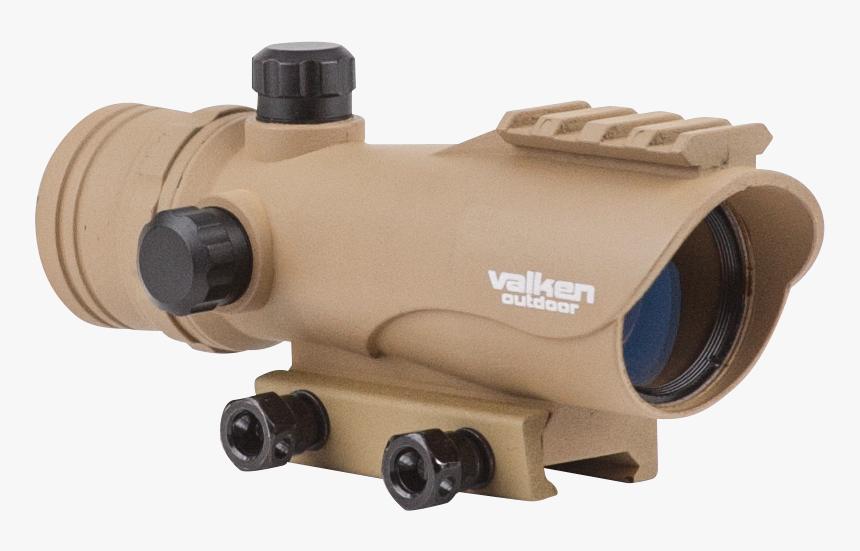 Valken 73858 V Tactical Red Dot Sight Black, HD Png Download, Free Download
