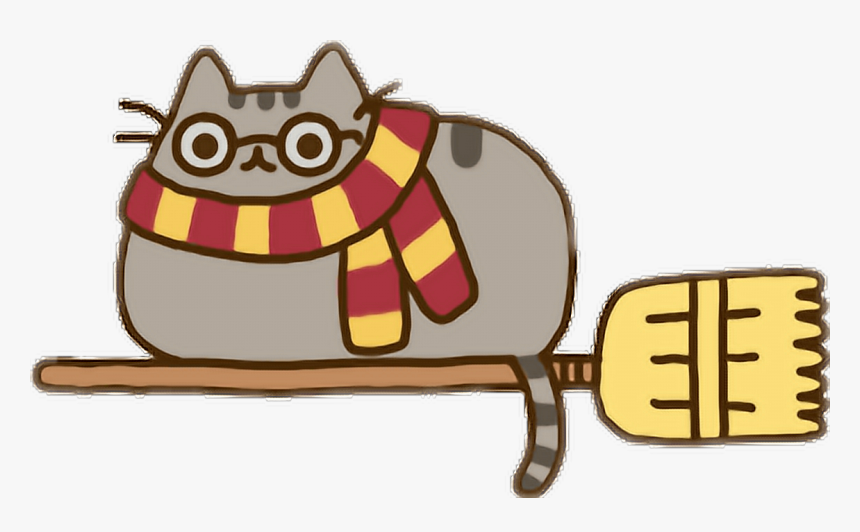 pusheen vector harry potter harry potter png kawaii transparent png kindpng pusheen vector harry potter harry