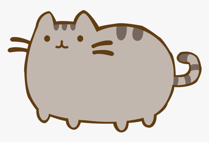 Paw Pusheen Cup Felidae Cat Free Download Png Hd - Cat Pusheen Gif Transparent, Png Download, Free Download