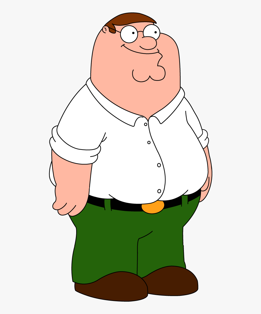 Peter Griffin Png - Peter Griffin Family Guy, Transparent Png, Free Download