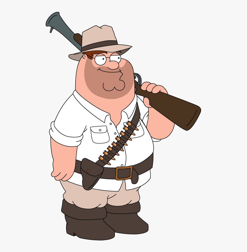 Peter Griffin With A Gun, HD Png Download, Free Download
