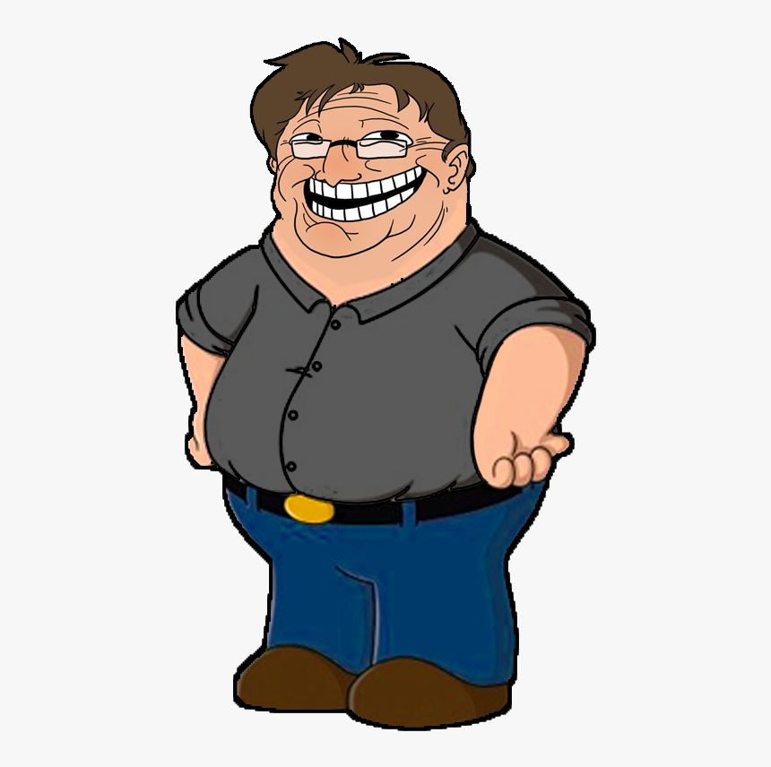 Half Life 2 Half Life - Cartoon Gabe Newell, HD Png Download, Free Download