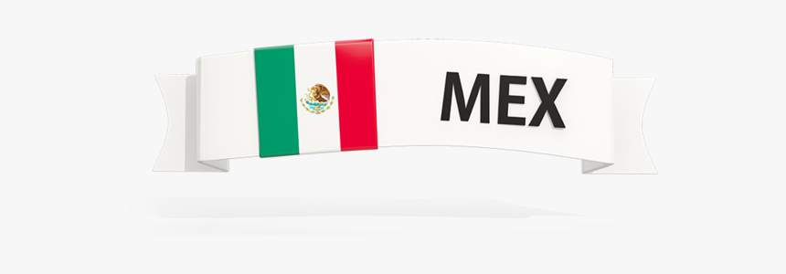 Mexican Flag Png - Mexico Flag Banner Png, Transparent Png, Free Download