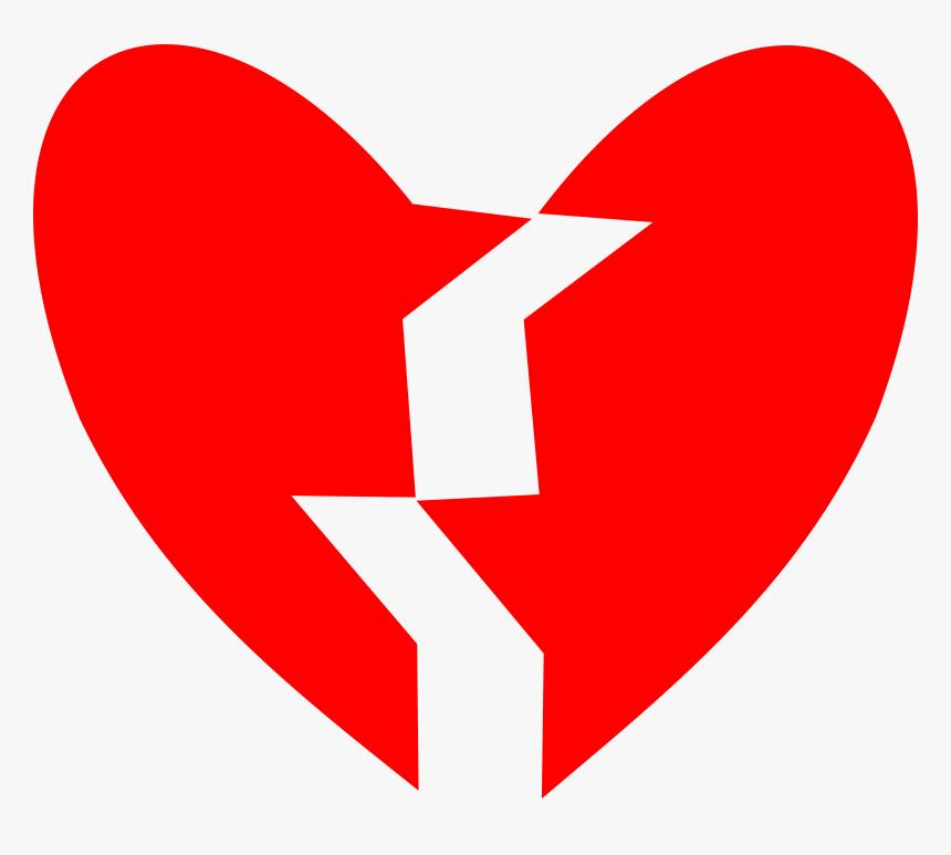 Broken Heart Vector Art Image - Broken Heart Clipart, HD Png Download, Free Download