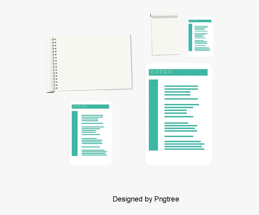 Notebook, Paper, Bar Png And Vector - Illustration, Transparent Png, Free Download
