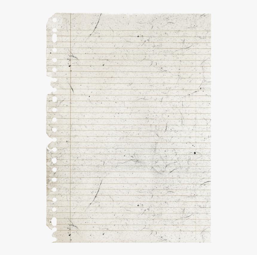 Notebook Png Download Image - Vintage Notebook Paper, Transparent Png, Free Download