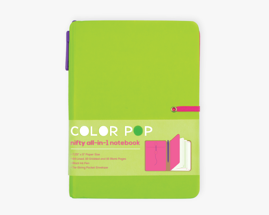 Color Pop Notebook, HD Png Download, Free Download