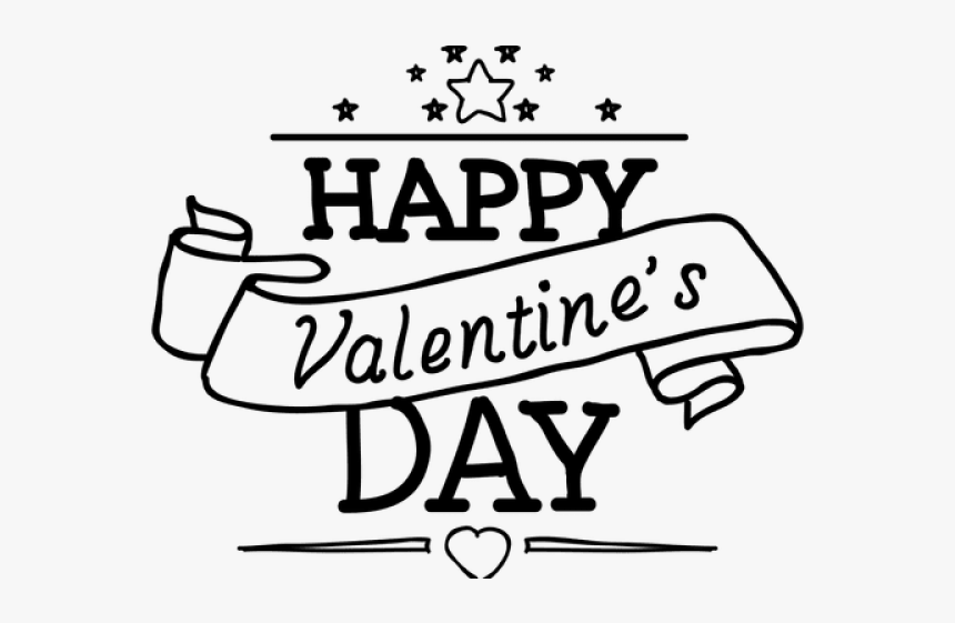 Happy Valentine S Day Png Transparent Images Calligraphy Png Download Kindpng