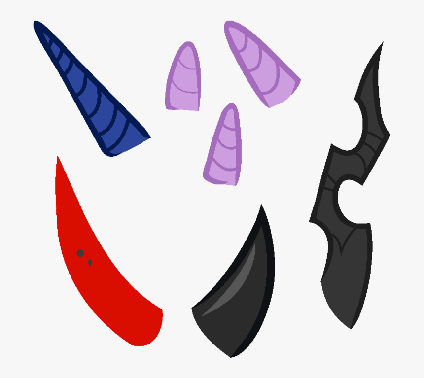 Unicorn Horn Mlp Base 76868 , Png Download - My Little Pony Horns, Transparent Png, Free Download