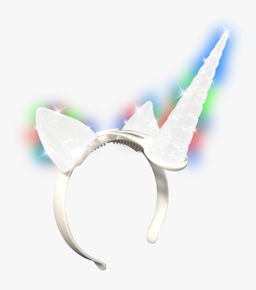 Light Up Unicorn Headband - Light Up Unicorn Head Piece, HD Png Download, Free Download