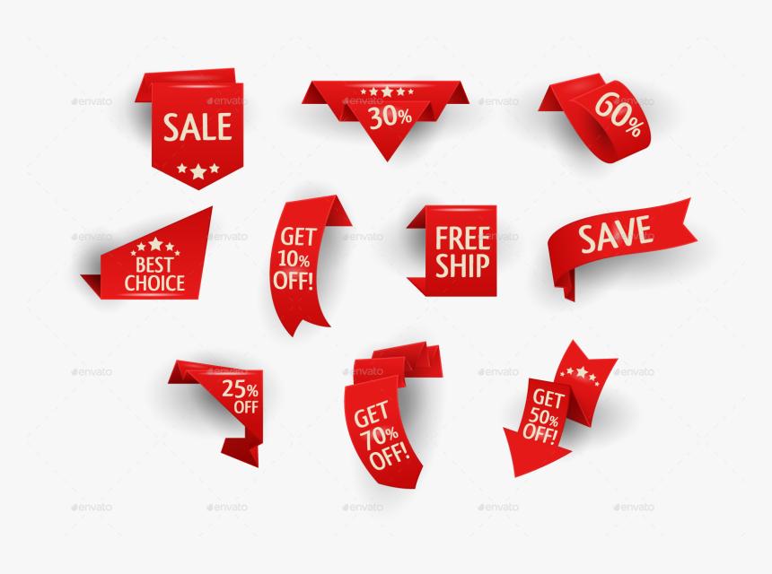 Memorial Day Clipart Ribbon - Sale Ribbon Png, Transparent Png, Free Download