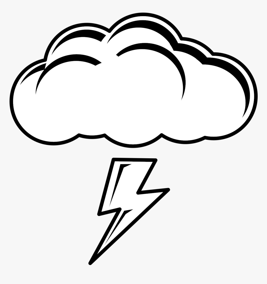 free cloud lightning cliparts rain clipart black and white hd png download kindpng rain clipart black and white hd png
