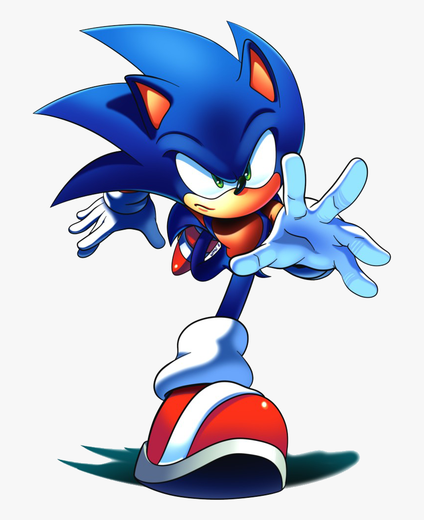 Sonic The Hedgehog Png Free Download Sonic The Hedgehog Art Transparent Png Kindpng