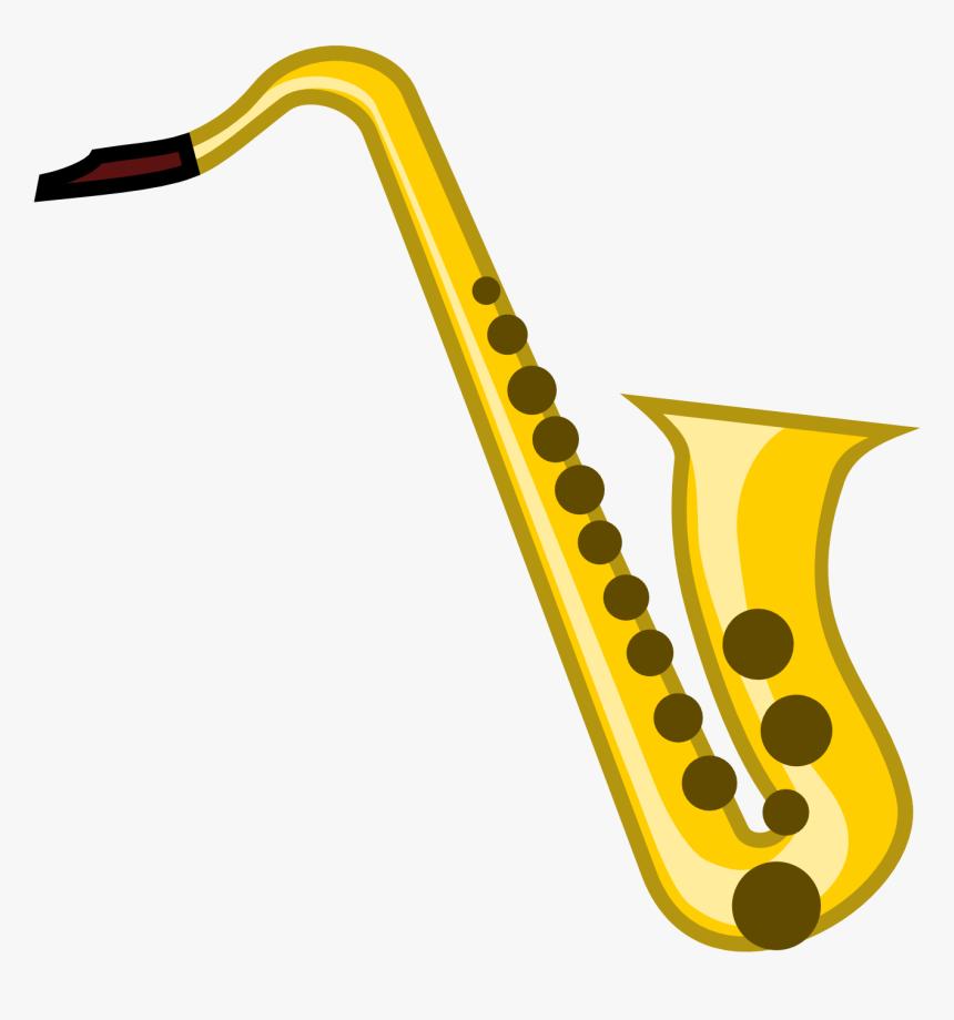Alto Saxophone Musical Instrument Jazz Clip Art - Saxophone Clipart Png, Transparent Png, Free Download