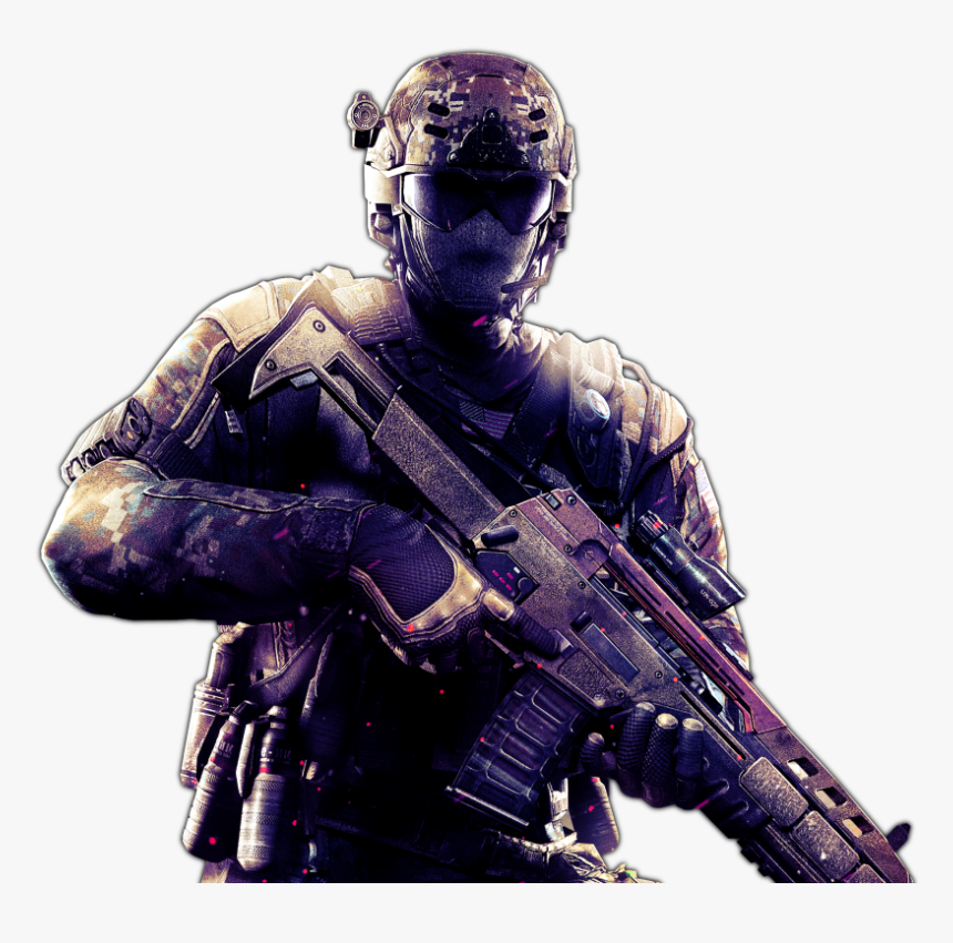 Transparent Black Ops 3 Gun Png - Call Of Duty Black Ops 3 Soldier, Png Download, Free Download