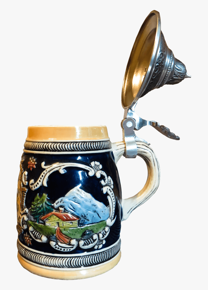 Beer Mug Mountain Decoration - Beer Stein, HD Png Download, Free Download