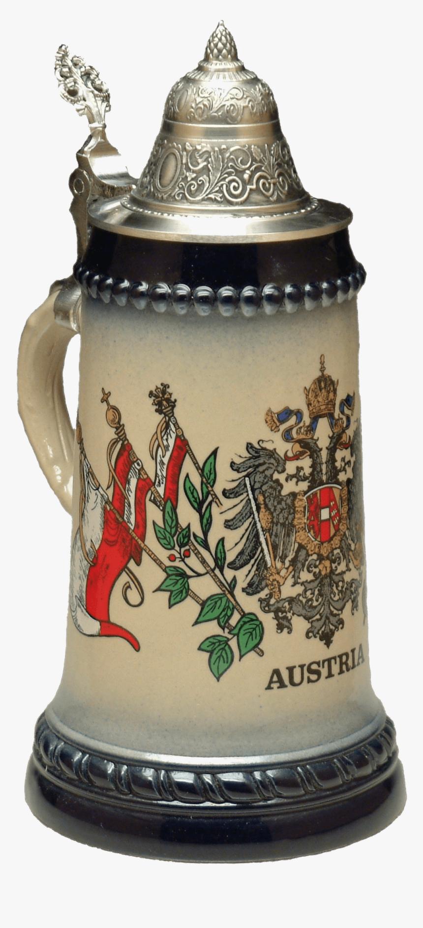 Beer Mug Austrian Symbols Clip Arts - Beer Stein, HD Png Download, Free Download