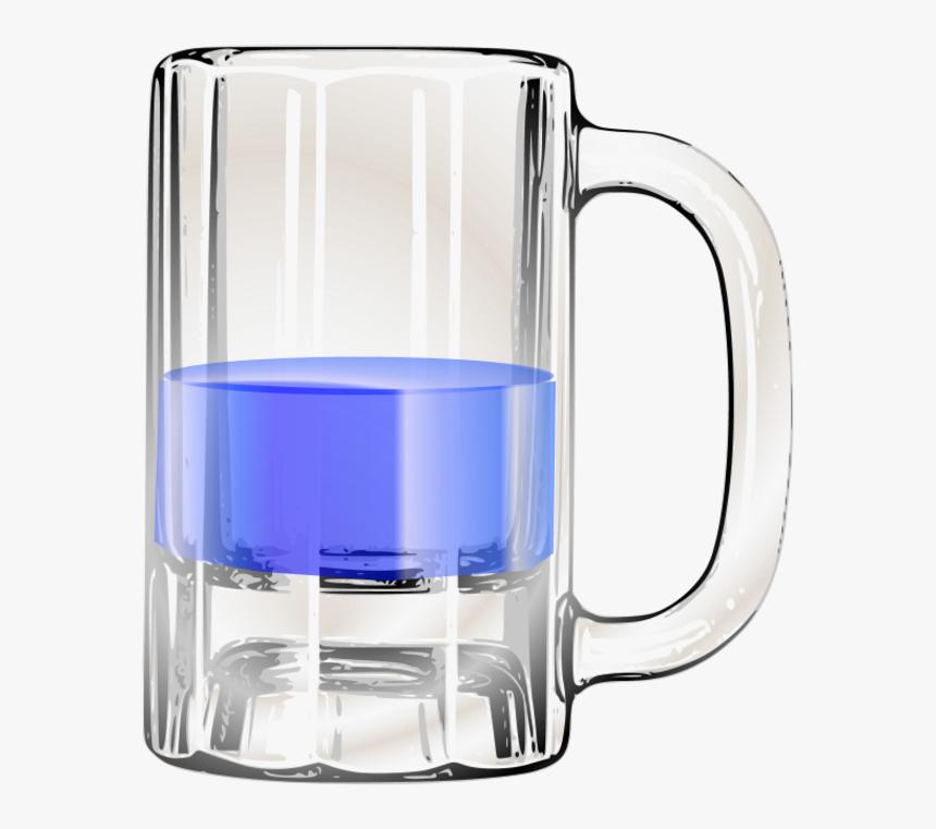 Full Beer Mug Clipart - Empty Beer Mug Clipart, HD Png Download, Free Download