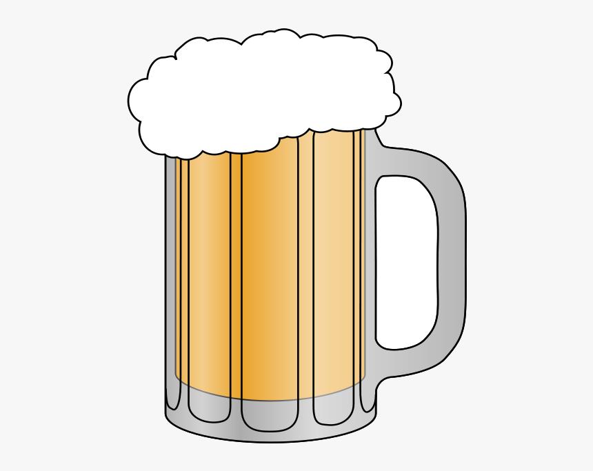 Beer Mug Clip Art Transparent Png - Glass Of Beer Clipart, Png Download, Free Download