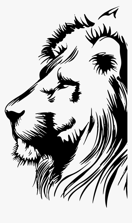 Lion Clip Art Portable Network Graphics Image Illustration - Lion Face Png, Transparent Png, Free Download