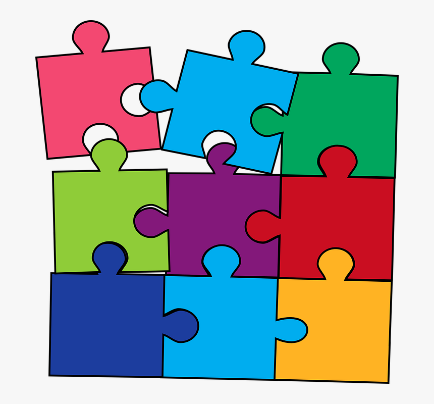 Puzzle Color Game Puzzles And Games Clipart Hd Png Download Kindpng