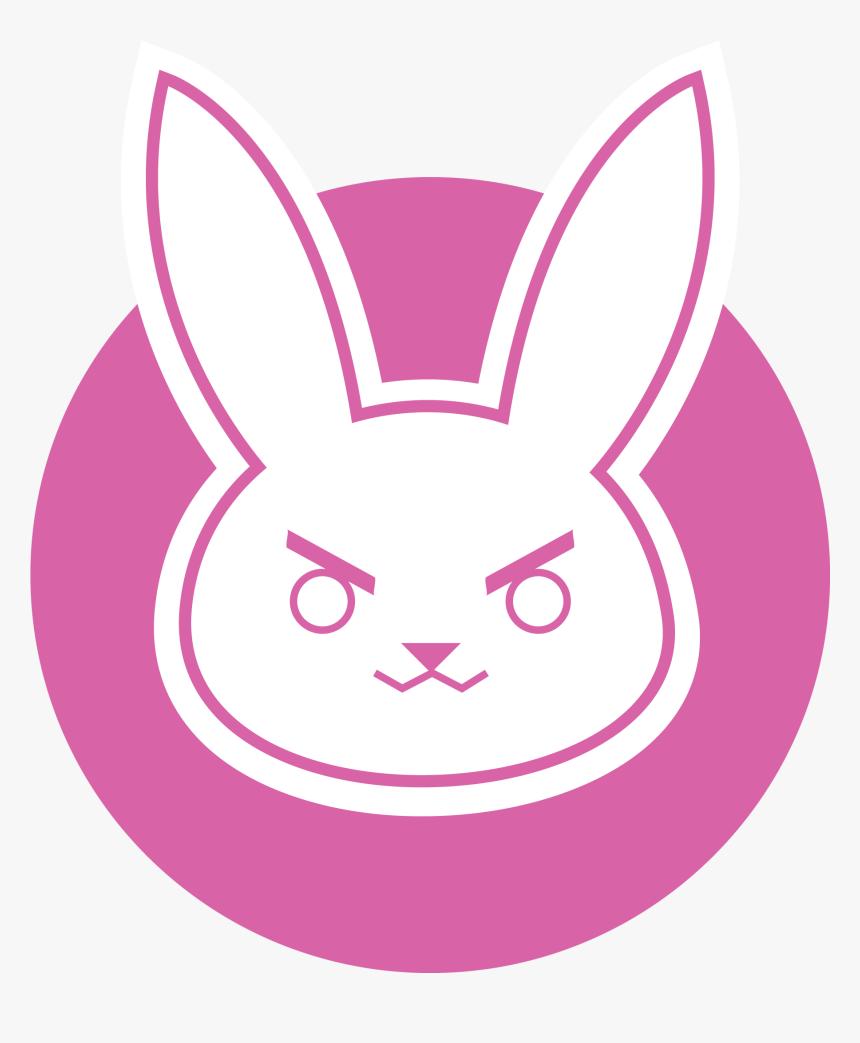 D Va Logo Wallpaper D Va Bunny Logo Hd Png Download Kindpng
