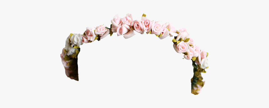 Flower Crown Tumblr Png, Transparent Png, Free Download